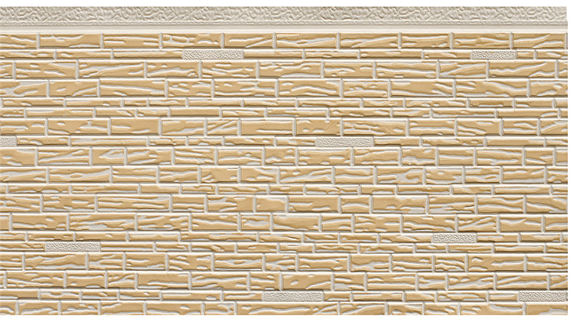 AK9-016 Small Stone Pattern Sandwich Panel