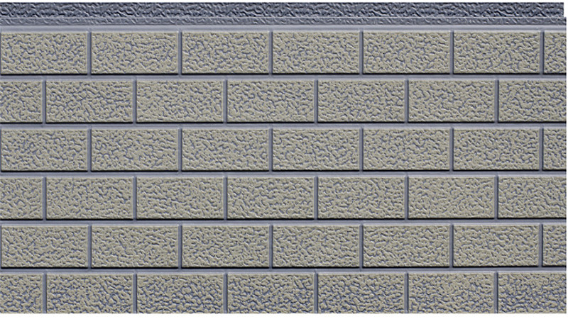 3510-022 Brick Pattern Sandwich Panel